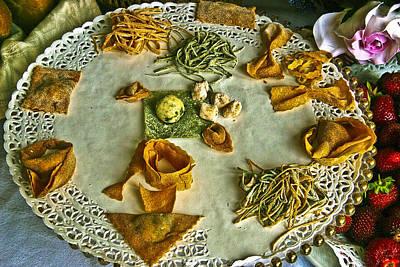 Many Pastas Original by Jon Cretarolo