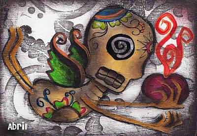 Many Secrets Art Print