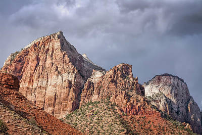 Photograph - Many Splendored Zion by John M Bailey