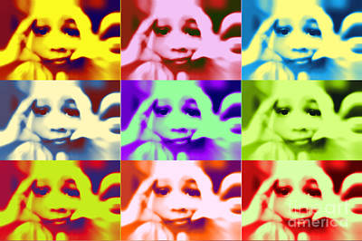 Many Faces Digital Art - manyfacesofHava by Anthony Lewis