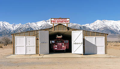 Photograph - Manzanar by Jon Exley