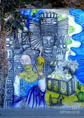 Photograph - Manzanillo Mural by Randall Weidner