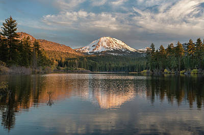 Photograph - Manzanita Lake Tranquility by Greg Nyquist