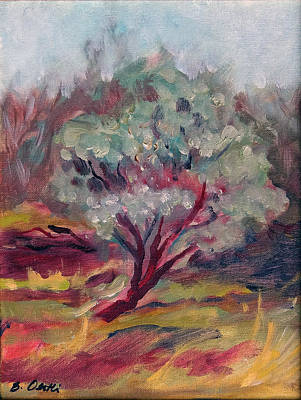 Painting - Manzanita Tree by Barbara Oertli