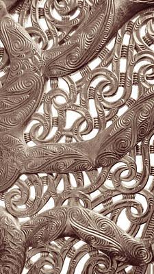 Photograph - Maori Abstract by Denise Bird