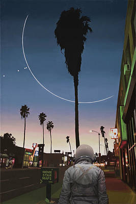 Map Of The Stars Original by Scott Listfield