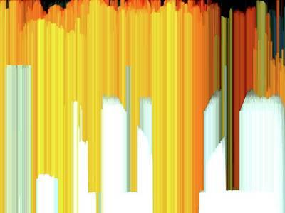 Digital Art - Maple Across The Street 4 Wc 2s4  by Lyle Crump