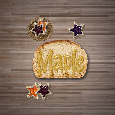 Food And Beverage Digital Art - Maple by La Reve Design