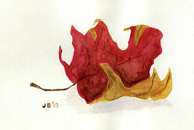 Painting - Maple Leaf by John Bennett