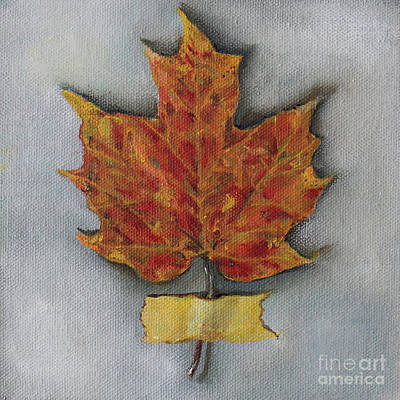 Painting - Maple Leaf by Kristine Kainer
