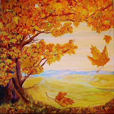 Painting - Maple One by Cathy Long