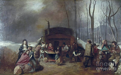 Painting - Maple Syrup, C1865 by Granger
