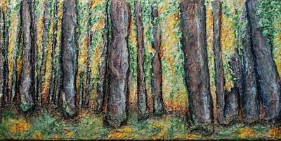 Maple Trees Art Print by Alison  Galvan