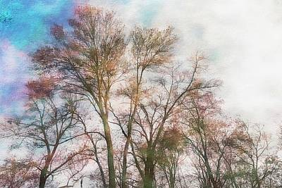 Digital Art - Maple Trees Getting Ready. For Summer. by Rusty R Smith