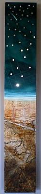 Localities Painting - Mapping Spirit Of Place by Anthony  Harris