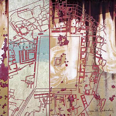 Maps #27 Art Print