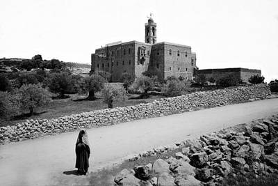 Elias Digital Art - Mar Elias Monastery by Munir Alawi
