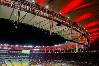 Photograph - Maracana Stadium, Rio De Janeiro by Daniel Precht