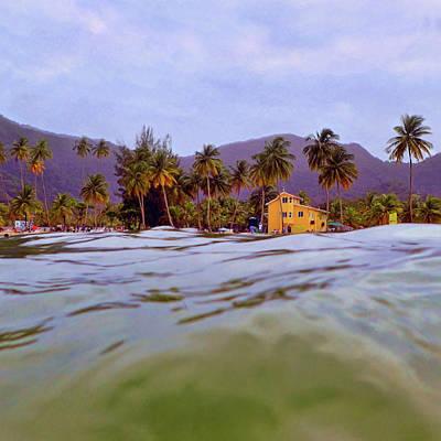 Photograph - Maracas Bay #1 by Nadia Sanowar