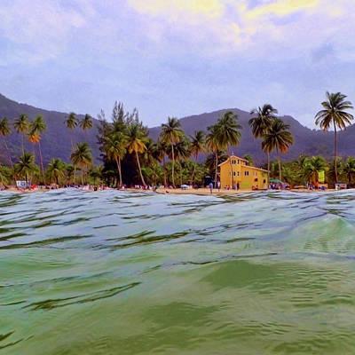 Photograph - Maracas Bay #2 by Nadia Sanowar
