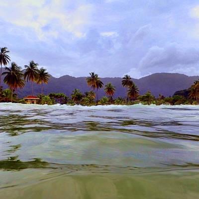 Photograph - Maracas Bay #4 by Nadia Sanowar