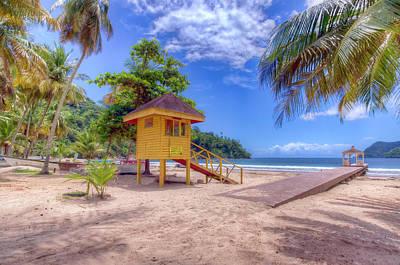 Photograph - Maracas Bay, Trinidad 1 by Nadia Sanowar