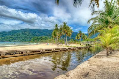 Photograph - Maracas Bay, Trinidad 2 by Nadia Sanowar