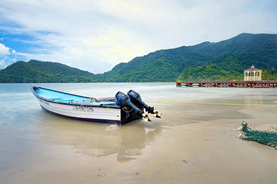 Photograph - Maracas Bay, Trinidad 4 by Nadia Sanowar