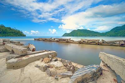 Photograph - Maracas Bay, Trinidad by Nadia Sanowar