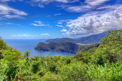 Photograph - Maracas Lookout by Nadia Sanowar