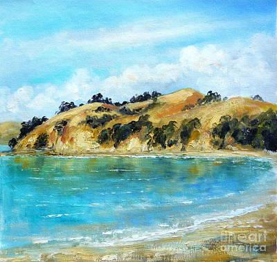 Painting - Maraetai Coast Road Auckland New Zealand by Jennifer Cruden
