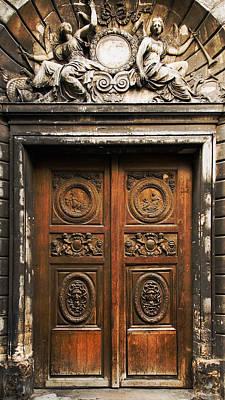 Photograph - Marais Doorway by Mick Burkey