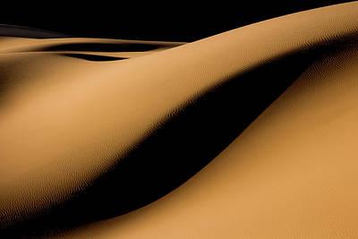 Shadows Photograph - Maranjab Desert by Usef Bagheri