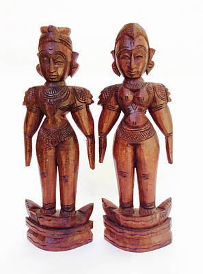 Marapachi Wooden Dolls Original by Aptcraft