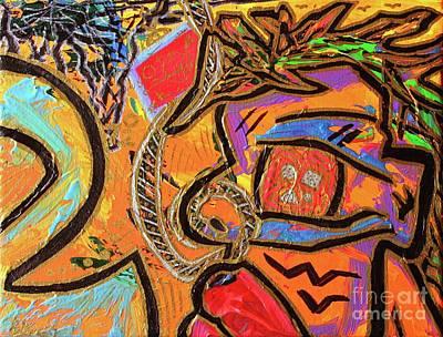 Painting - Marathon Man by Odalo Wasikhongo