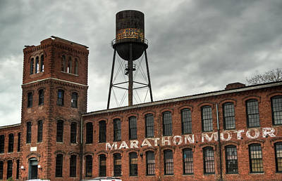Homesickness Photograph - Marathon Motor Cars Company by Douglas Barnett