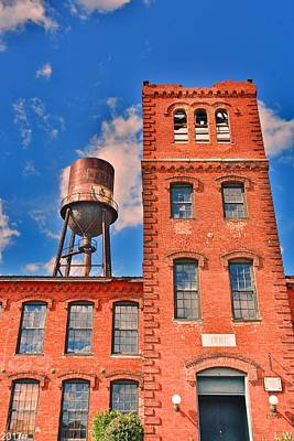 Photograph - Marathon Motors Works Water Tower by Lisa Wooten