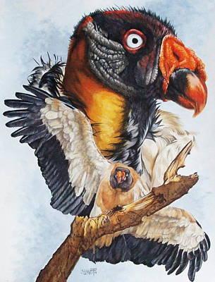 Vulture Mixed Media - Marauder by Barbara Keith
