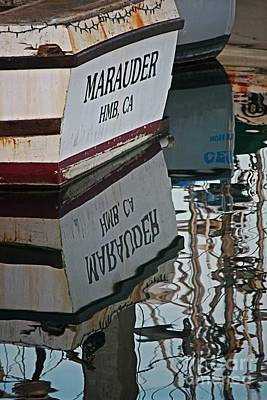 Photograph - Marauder Reflection Vertical by Teresa Wilson