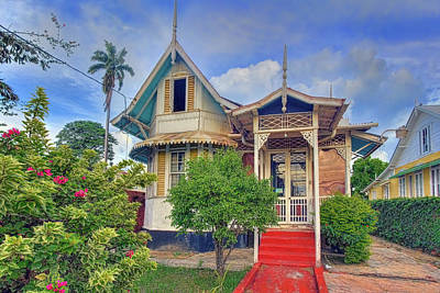Photograph - Maraval House by Nadia Sanowar