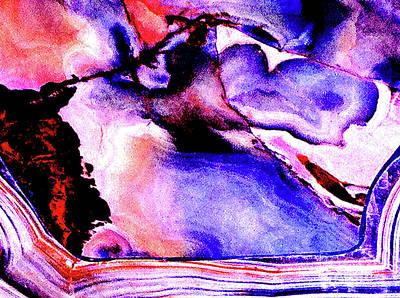 Marble 23a Art Print