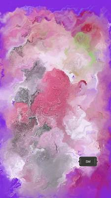 Painting - Marble Abstract Art by Sheila Mcdonald