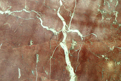 Photograph - Marble Abstract by Cate Franklyn