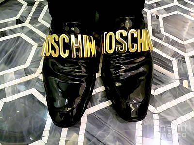 Digital Art - Marble And Moschino by Ed Weidman