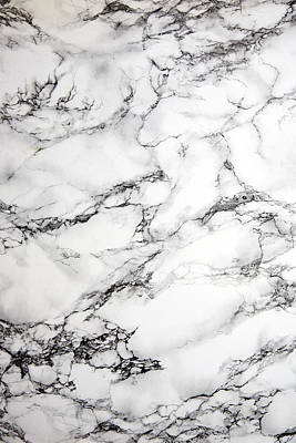 Marble Kitchen Counters Photograph - Marble Background by Jo Ellis