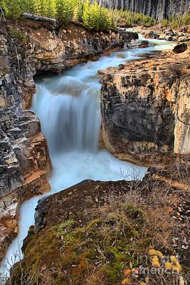 Photograph - Marble Canyon Falls Portrait by Adam Jewell