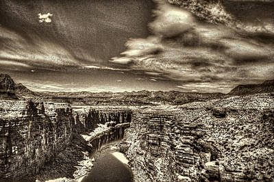 Photograph - Marble Canyon From Navaho Bridge by Roger Passman