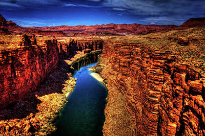 Photograph - Marble Canyon From The Navajo Bridge by Roger Passman