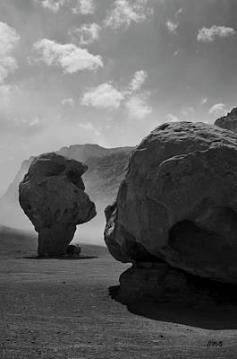 Clouds Photograph - Marble Canyon II Bw by David Gordon