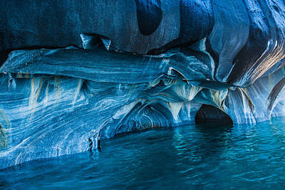 Photograph - Marble Caves by Walt Sterneman